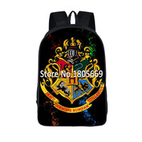 Harry Potter Backpack For Teenager Girls Boys Casual Daypacks Hogwart Deathly Hallows Students School Bags Women