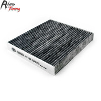 CFPerformance Car Air Filter Auto Activated Carbon Filter Air Conditioning Intake For RAV4 Avalon Prius Camry