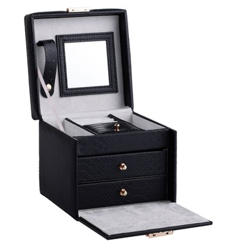 Jewelry Mirror Box Waterproof Storage