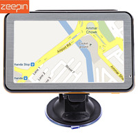 Zeepin Multi function 5'' Vehicle GPS Navigation TFT LCD Voice Guidance GPS Europe Middle East North/South America Australia Map
