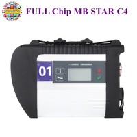 MB Star C4 SDconnect C4 Diagnosis Multiplexer Full Chip Support Cars and Trucks Support Wifi