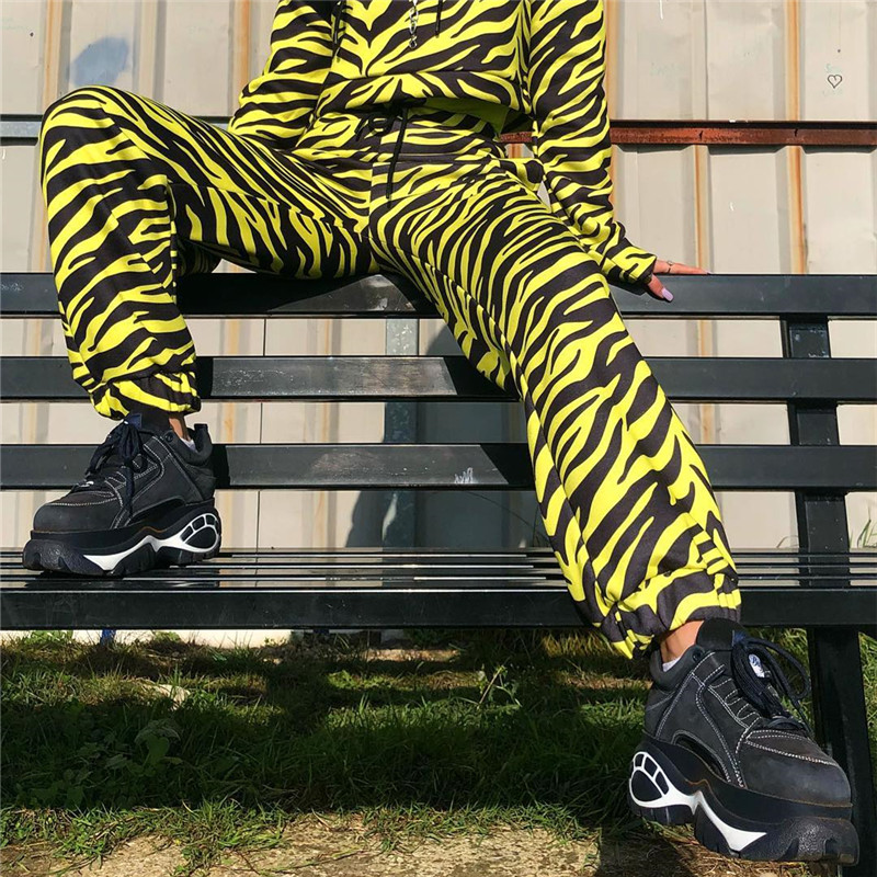 3fb617d5cef8 Detail Feedback Questions about Darlingaga Streetwear yellow Zebra ...