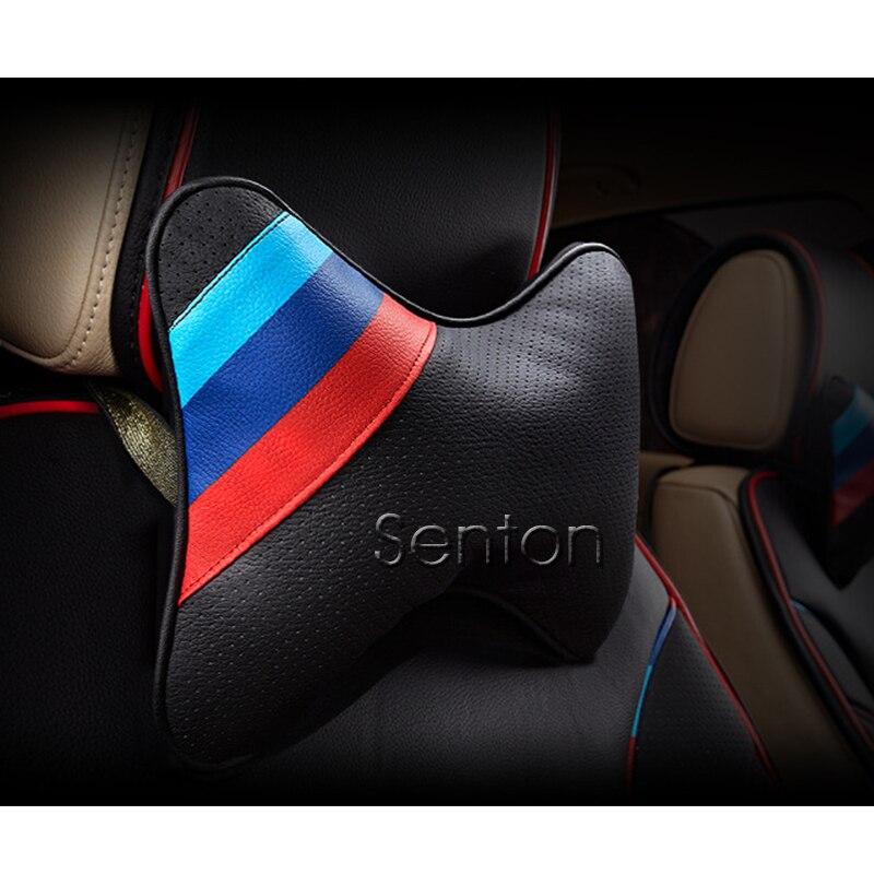 1 Pack Audi logo collo cuscino poggiatesta per cuscino poggiatesta per auto sedile auto collo cuscino poggiatesta