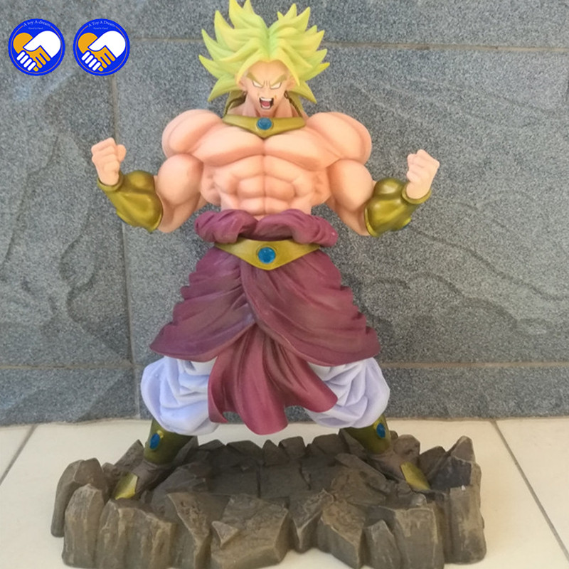 все цены на A toy A dream 2017 Original BANDAI Dragon Ball Z shf super saiyan broli Brolly action figure toy for Collection онлайн