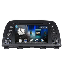 Free Shipping Car DVD Player with GPS Navigation System For Mazda CX-5 Mazda 6 Atenza 2013 2014 2015 Radio Bluetooth SD USB