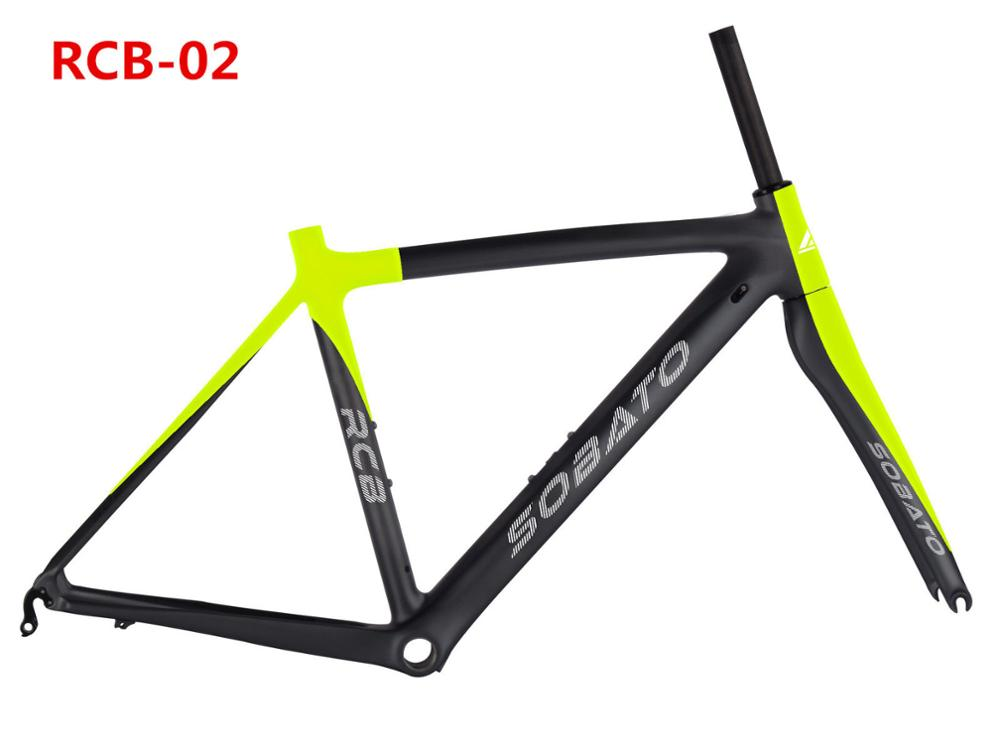 2016 New Cheap OEM Road Bicycle Carbon Frame/Fork/Headsets Road Racing Bike 50 /53/55cm