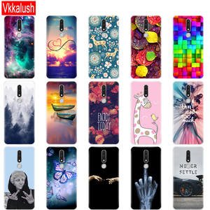 Image 3 - Telefon Fall Für Nokia 3,1 Plus Fall Abdeckung lustige Cartoon Silicon Weiche Rückseitige Abdeckung Nokia 3,1 Für Nokia 3,1 Plus 2018 fall Tasche bock