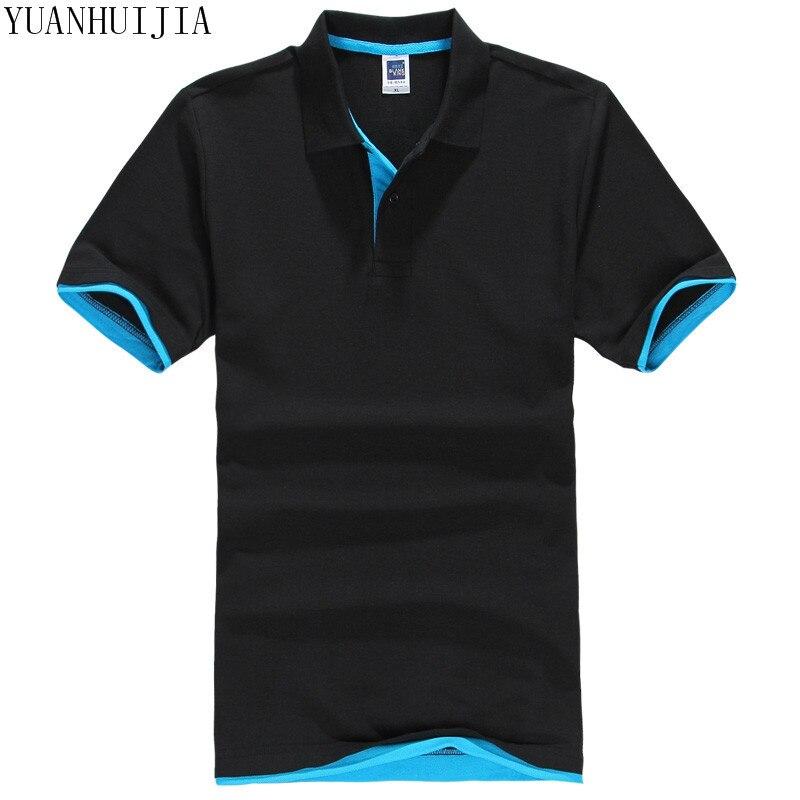 New 2017 Men's brand men   Polo   shirt D esigual Men's cotton short-sleeved   polo   shirt sweatshirt T-ennis Free shipping S-3XL