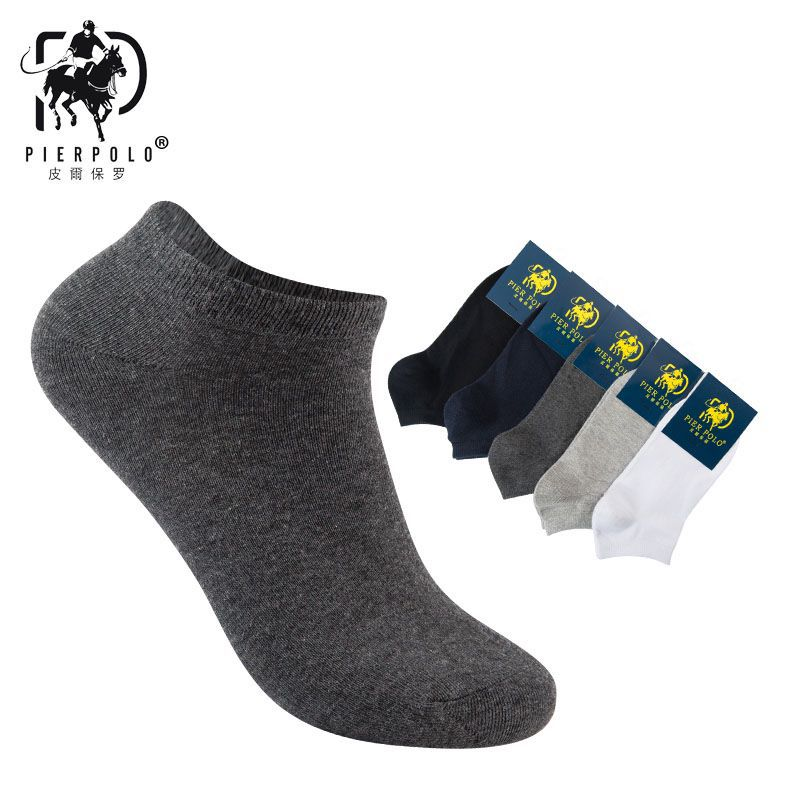 2018 Mens Socks Real Thin Socks Men Casual Korean Version Of The New Summer Cotton Solid Classic 5 - Color Male Wholesale