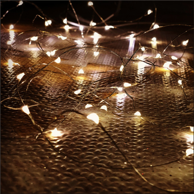 Festive Waterproof Battery Operated Christmas LED String Light
