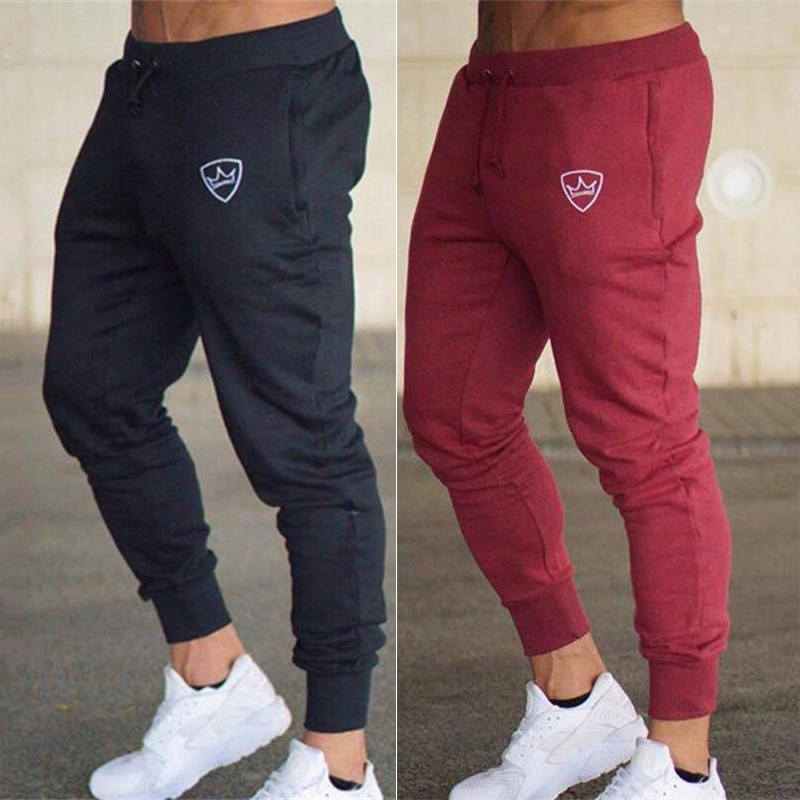 Men's Running Pants Basketball Football Training Pants Jogging Training Pants Long Running Breathable(China)