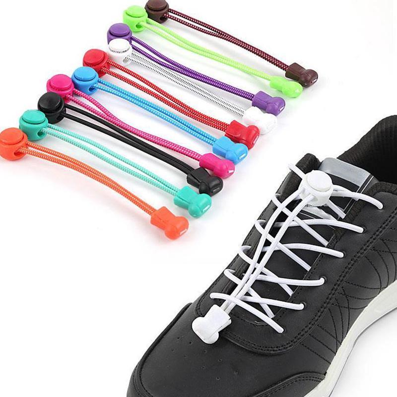 Elastic Locking Shoelaces Shoe Laces Trainer Running//Jogging//Triathlon//Sporting