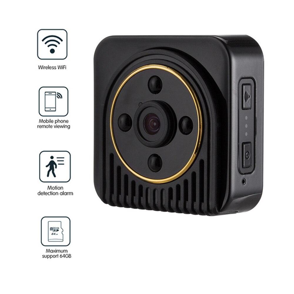 Caméra secrète Mini DV sans fil H5 720 P caméra infrarouge Micro WIFI Vision nocturne caméra flexible capteur de mouvement caméra IP