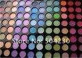 96 Матовый Цвет Shimmer Тени Для Век Палитра Теней для век порошок для глаз Салон красоты Макияж палитра набор 2 компл./лот