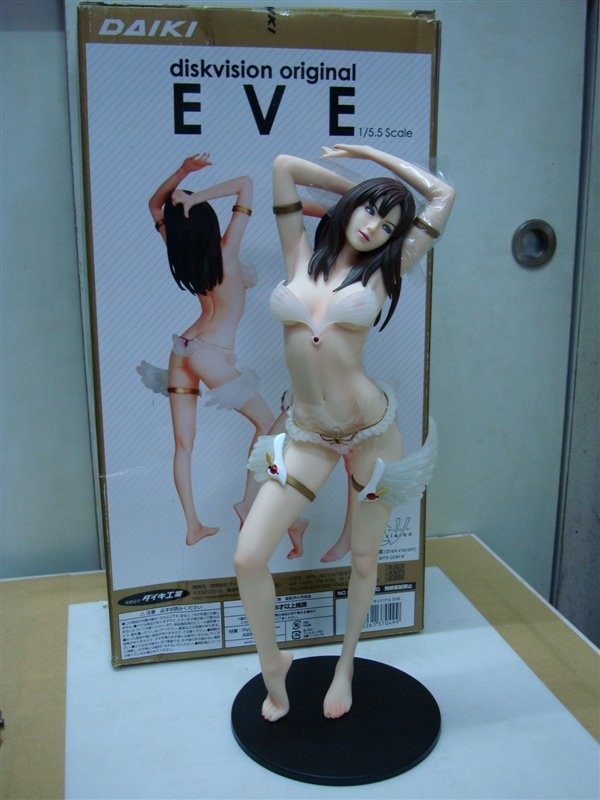 Sexy Girl New Diskvision EVE 1/5 PVC Action Figure Daiki Sexy Adult Action Figure Toy High Quality Sex Model Toy 25cm ...