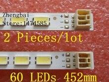 2 шт/комплект 40 «LJ64-03567A H1LTA400HM08 светодиодный ленты S светодиодный 2011SGS40 5630 60 H1 REV1.0 _ Ядро 60 светодиодный s 452 мм