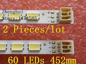 Image 1 - 2 teile/los 60LED Led hintergrundbeleuchtung streifen für LC 40LE511 40BL702B LE4050b LE4052A LE4050 LE4052 LJ64 03567A H1LTA400HM08