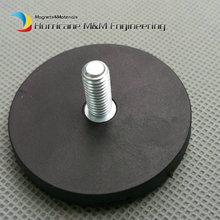4pcs Mounting Magnetic Disc Dia 43mm LED Light Holding Spotlight Holder Male Thread NdFeB Magnet Strong Neodymium Magnet