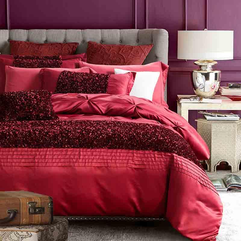 100% Seide Bettwäsche Luxus Bettwäsche King Queen Double Size - Haustextilien - Foto 3