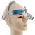 Faísca Lupas 3.5x Ampliação Profissional com Cabeça Confortável e Montado CONDUZIU A Luz Cabeça Ajustável Distância Aluno