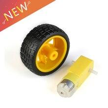 TT Мотор умный автомобиль робот мотор-редуктор для arduino Diy комплект колеса умный автомобиль двигатель для шасси робот пульт дистанционного управления автомобиля DC мотор-редуктор