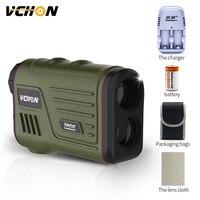 Vchon 600m 1200m Multifunction 6x Laser Range Finder Monocular Telescope Hunting Golf Distance Camo Rangefinder Free