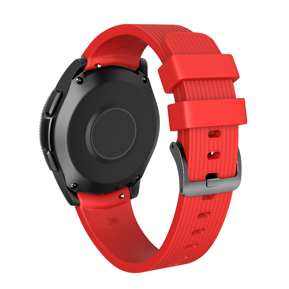 20mm Width Silicone Strap for Samsung Galaxy Watch 42mm Band for Samsung Gear Sport/Gear S2 Classic SM-R7320 Silicone Watchband samsung samsung galaxy gear s2 серебристый белый