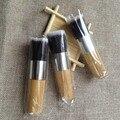3 pcs Profissionais Pincéis de Maquiagem Flat Top Pincel de Base Em Pó Escova Beleza Escova Cosmética Make Up Ferramenta De Madeira Kabuki Make-Up Set