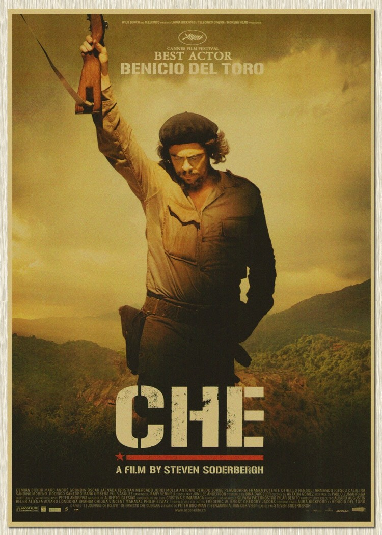 Che Guevara old paper Wall Poster Vintage Home Decor Photograph ...