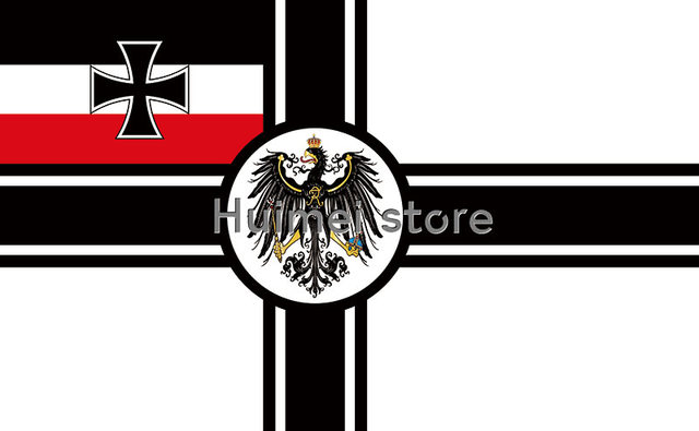 german empire flag 3 x 5 ft polyester war flag iron cross first world war germany army flags and. Black Bedroom Furniture Sets. Home Design Ideas