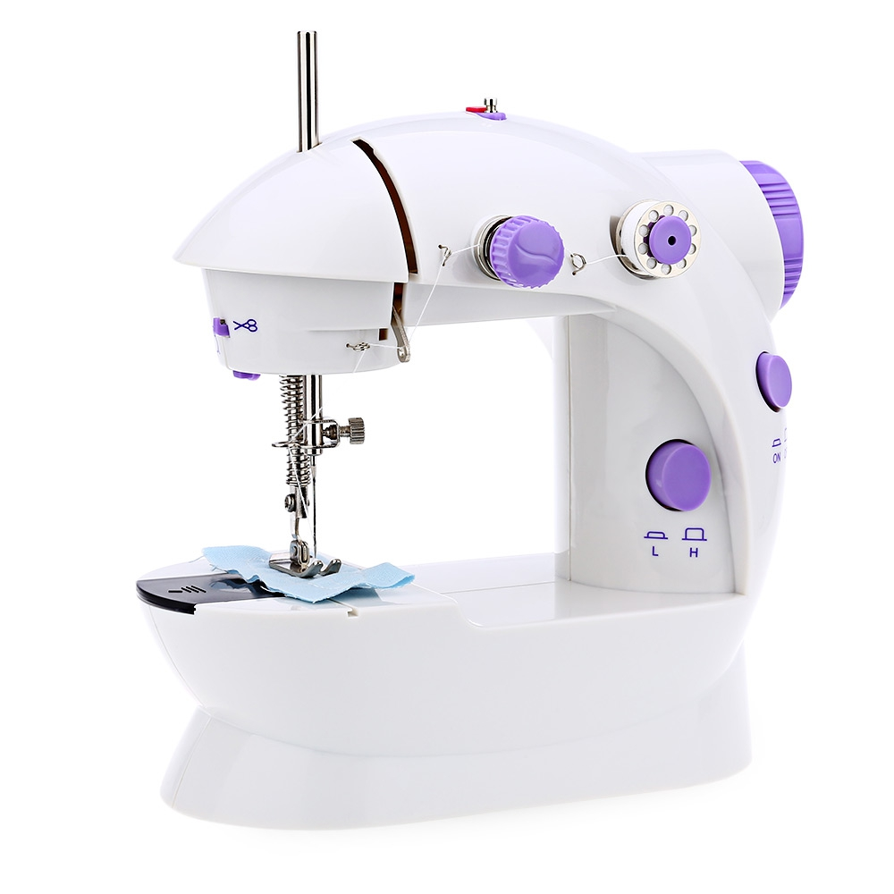 Mini Handheld sewing machines Dual Speed Double Thread ...