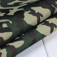 Oxford Cloth Camouflage Waterproof Cloth Coated Tarpaulin Rain Upset Paragraph PVC Silver Shade Cloth Camouflage Cloth