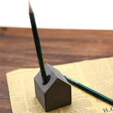 Zement beton geometrie silikonform Schlamm kreative stift stifthalter briefbeschwerer kleines haus geschenk