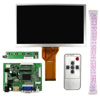 Latumab 7 inch 50PIN AT070TN90 AT070TN92 AT070TN94 LCD screen+LVDS Controller Driver Board HDMI VGA 2AV Support Free shipping