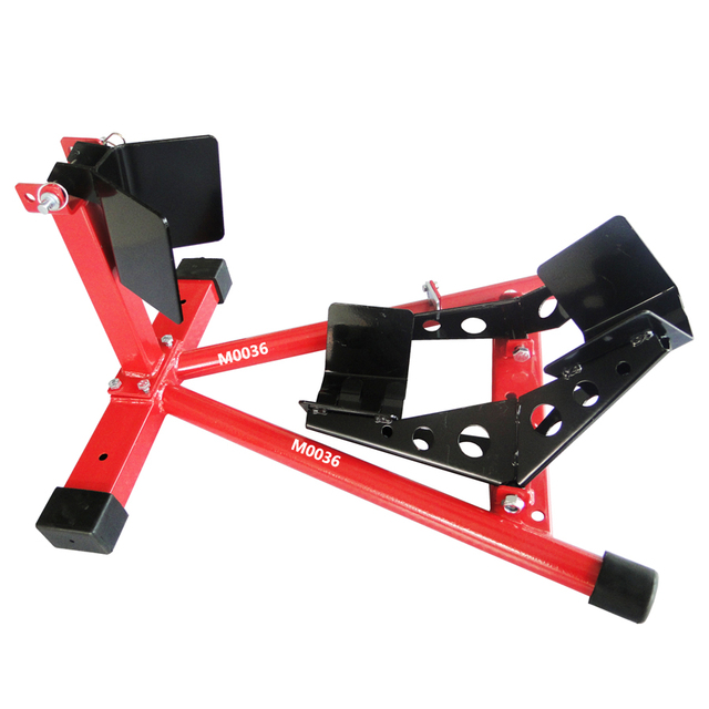 motorcycle sport bike front wheel chock lift stand fit 16 21 tires