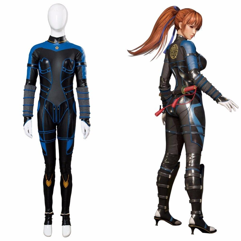 Ambitieus Game Dood Of Levend 6 Cosplay Kasumi Kostuum Uniform Volwassen Meisjes Vrouwen Halloween Kostuum Kasumi Jumpsuit Custom Made Het Verstrekken Van Voorzieningen Voor Het Volk; Het Leven Gemakkelijker Maken Voor De Bevolking