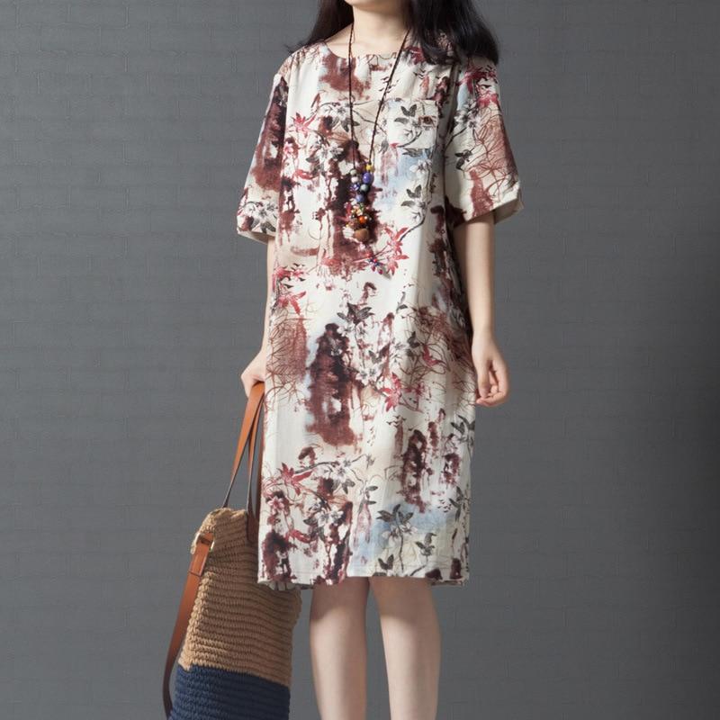 53437b39c4ab1 Maternity Dress New 2017 Summer Loose Large Size Printing Comfortable  Dresses for Pregnant Women Pregnancy Vestidos YFQ015