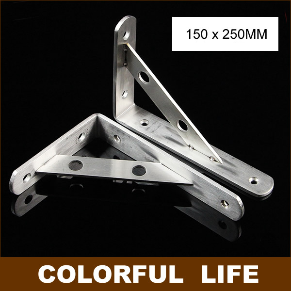 150x250mm,Thick stainless steel Shelf bracket, marble stand, wall, shelf, bracket ,Home Hardware good Load-bearing free shipping 12inch stainless steel bracket household hardware wall bracket shelf support bracket furniture part item supply