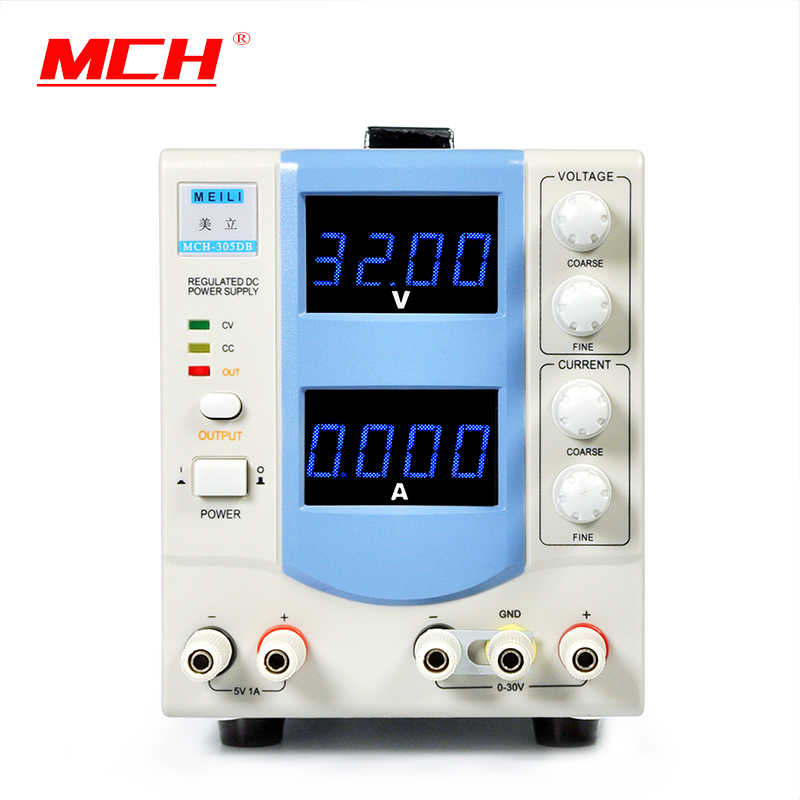MCH 305DB four digit display adjustable DC power supply 30V5A precision laboratory power supplies AC110V/AC220V