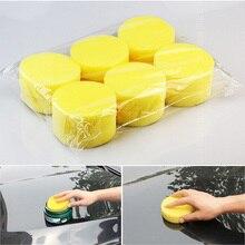 12PCS Wax sponges Round Car Polish Sponge Foam Sponges Applicator Pads for Clean Cleaner Care Tools