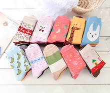 2016 Spring And Summer women's College Style Shallow Mouth Stripes Low To Help Cotton Sockss(25pairss/1Lot) Standard Size