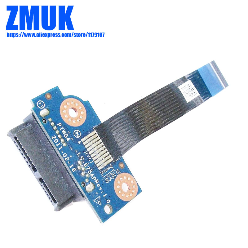 New Original PIWG4 ODD Board W/ Cable For Lenovo Y770 G770 G780 Series,FRU 31050110 LS-675AP (10098)