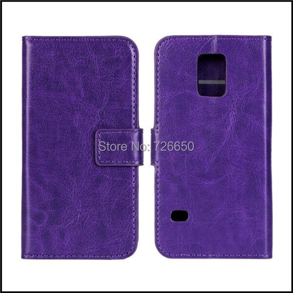 Чехол для Samsung Galaxy S5 mini, сумасшедший лошадь бумажник стиль кожа чехол с карта 2-слотов + экран протектор