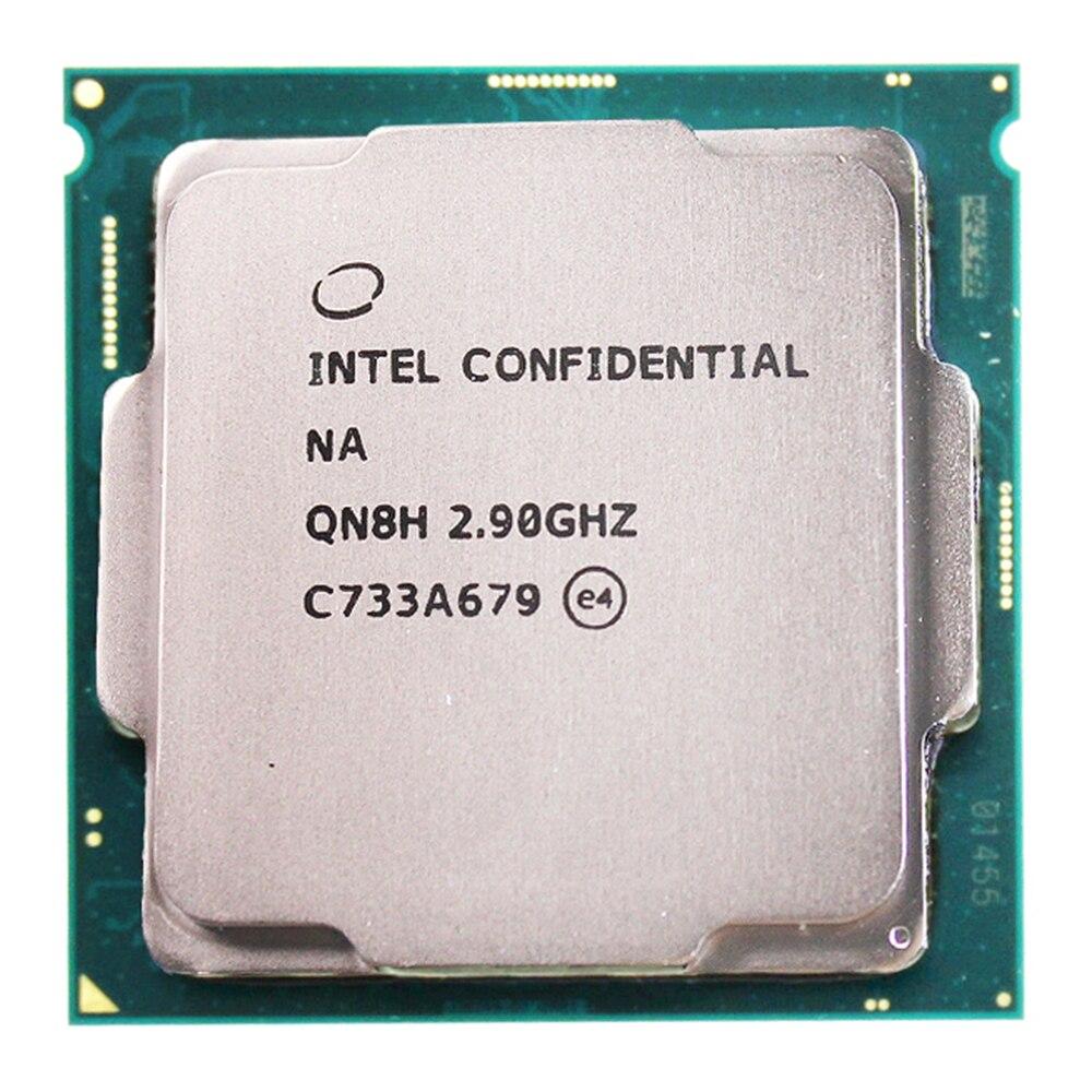 QN8H ES CPU Génie version de intel core i7 processeur 8700 I7 8700 k Six core 2.9 HD630 travail sur la LATENCE 1151 b360 Z370