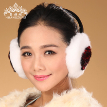 2016 Camouflage font b Earmuff b font Inverno Royal Princess Winter New Korean Ear Warm Rex