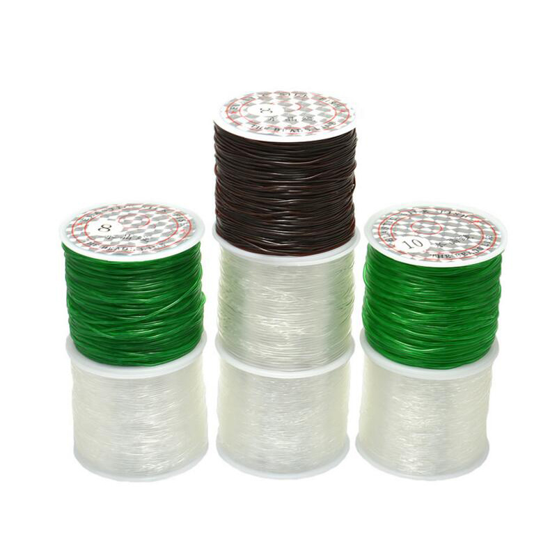 Elastic Stretchy Crystal Cord Round Line Jewelry Beading Thread 0 6mm 0 8mm 1 0mm 1