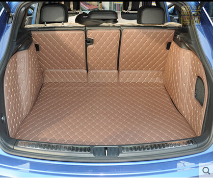 Good carpets Special trunk mats for Porsche Macan 2016 2014 durable waterproof luggage carpets for Macan