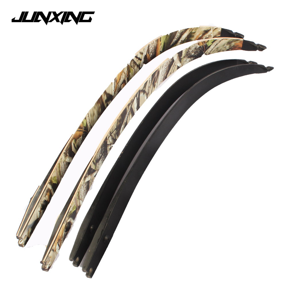 2pc 30-60Lbs Recurve Bow Limbs Black/Camo F166 DIY Bow for Outdoor Archery Shooting Hunting2pc 30-60Lbs Recurve Bow Limbs Black/Camo F166 DIY Bow for Outdoor Archery Shooting Hunting