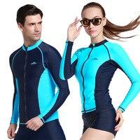 Wetsuit Swimwear Men Women Surf Diving Swimming Suit Rashguard Swim Suits Roupa De Mergulho Long Sleeve