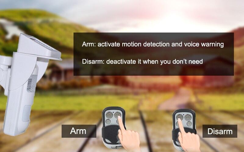 arm disarm by remote